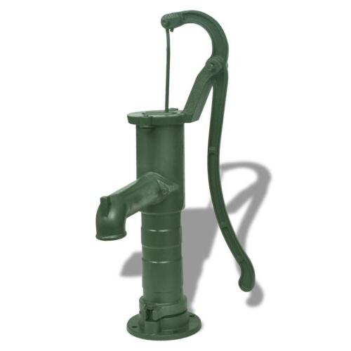 vidaXL Cast Iron Garden Hand Pump