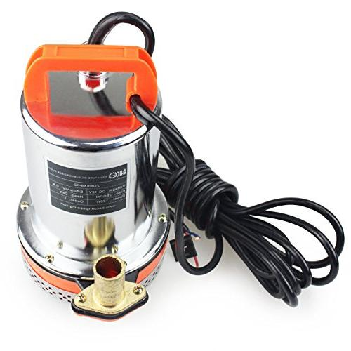 BACOENG 12V & Pump Submersible Well 26ft