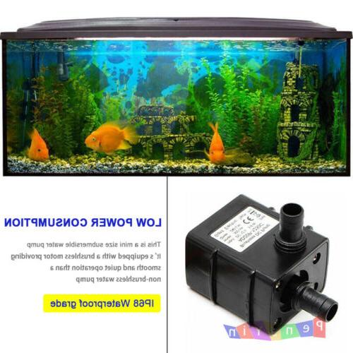 DC12V 3M Ultra Quiet Brushless Pool Water Pump