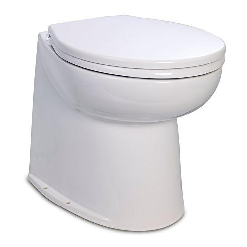 "Jabsco 17"" Deluxe Flush Raw Water Toilet 12V Part # 58240-20"