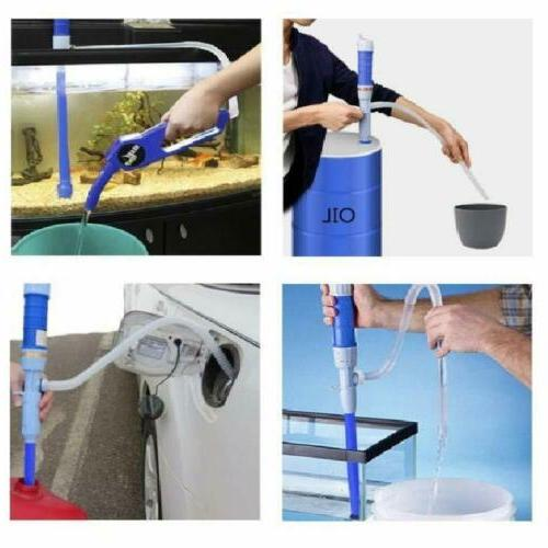 Electric Siphon Pump Liquid Transfer Fish Tank