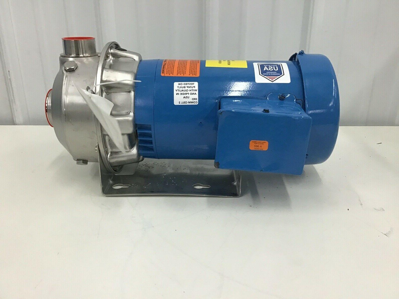 Goulds Totally Centrifugal Pump 208-240/480VAC