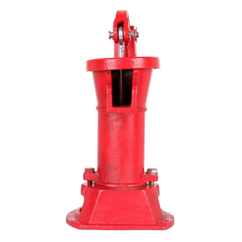 Hand Water Pump Pitcher Cast Press Suction Yard 25ft