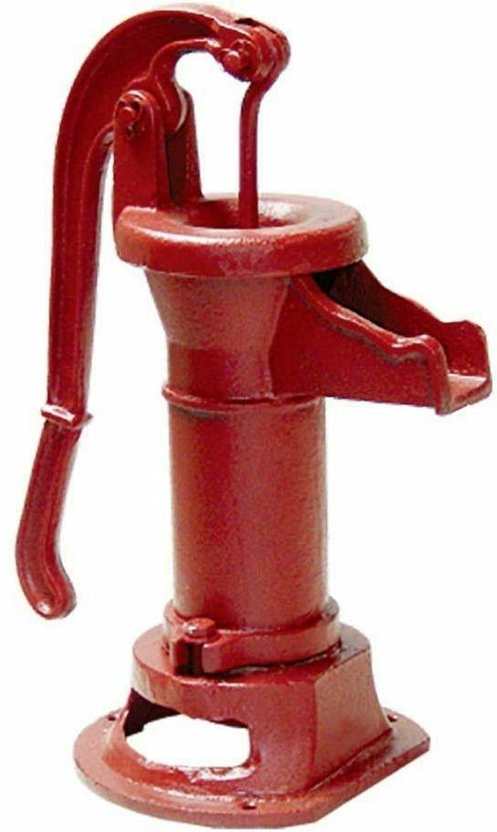 heavy duty cast iron well water pitcher