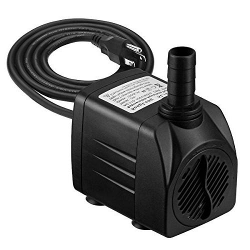 homasy upgraded submersible water pump