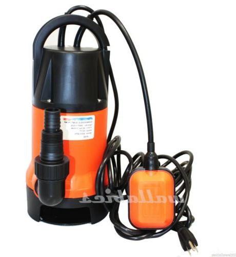 new 1100w 1 5hp clear dirty water
