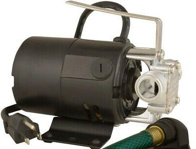 new electric portable utility water transfer pump