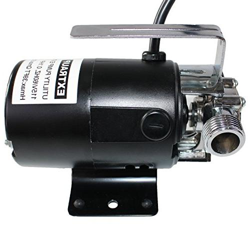 EXTRAUP 115Volt Portable Low Water Transfer Pump With Suction Kit