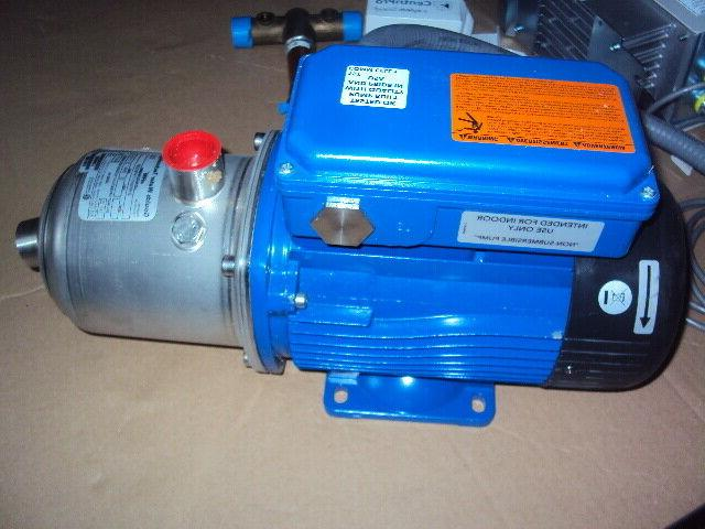pressure booster system with pump controller 1