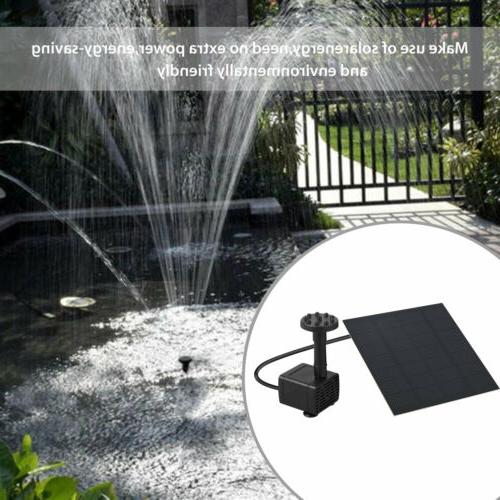 Solar Pool Pond Watering Submersible