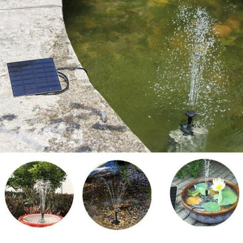 Garden Yard Fountain Pond Outdoor Bird