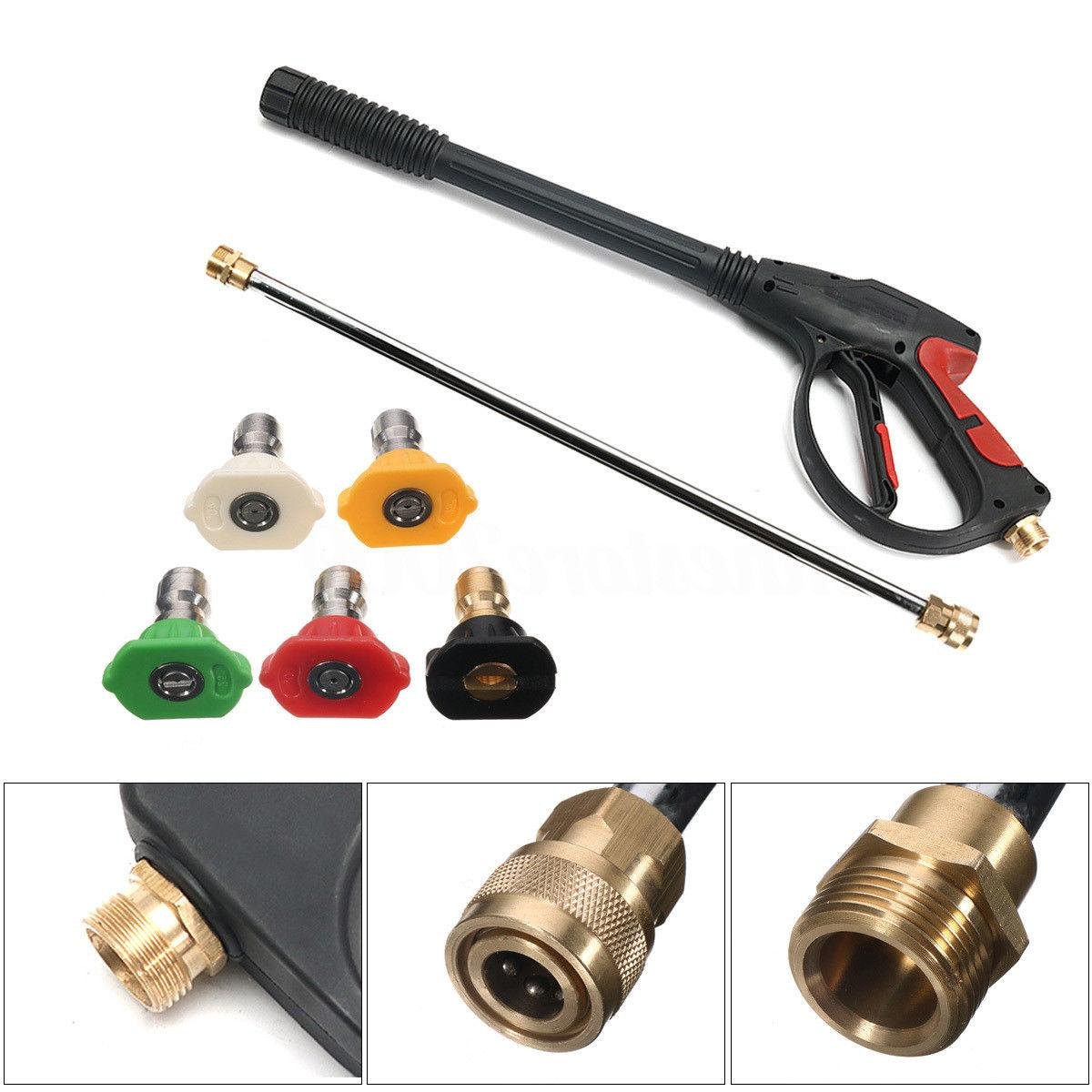SPRAY GUN WAND/ & TIPS Washer Water Pumps Up to 3000PSI