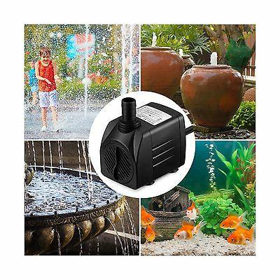 Homasy Submersible Pump 25W Water with For... Shipping