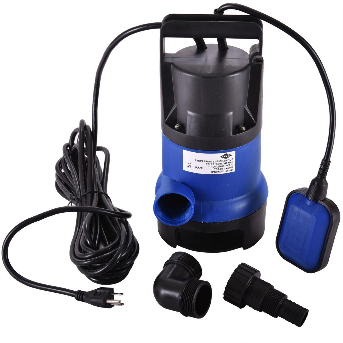 Submersible HP 2000GPH Dirty Drain