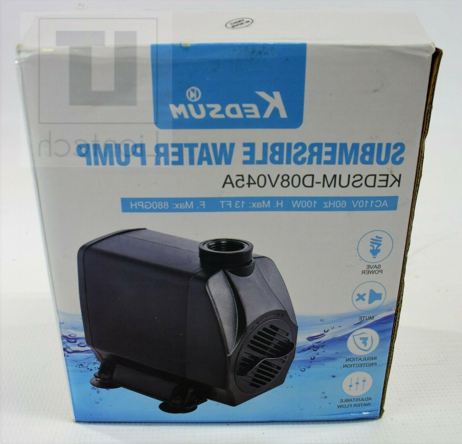 submersible water pump 3500l h 100w d08v045a