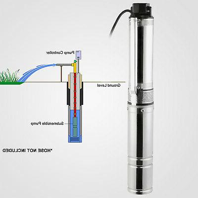 """Submersible Well, 25.5GPM, 4"""" Max"""