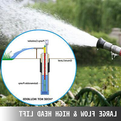 """4"""" Well Water Submersible Stainless 42GPM"""