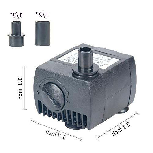 Uniclife 80-550GPH Water Pump with