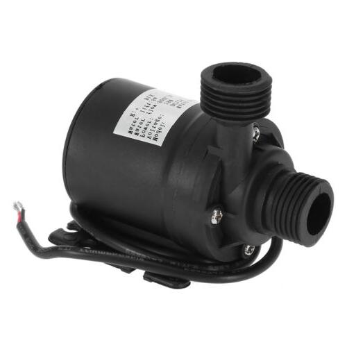 Ultra Quiet 12V 800L/H Brushless Submersible Water