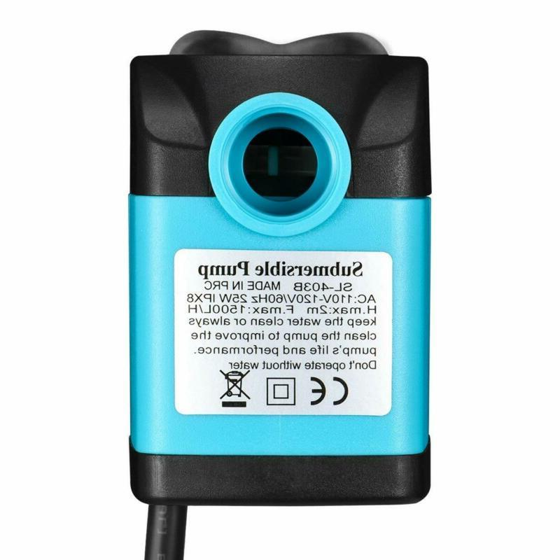 Homasy Submersible Pump Ultra Fountain Pump With