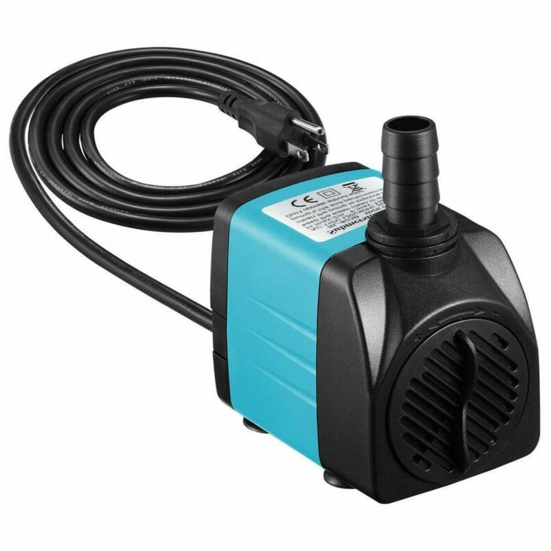 upgraded 400gph submersible pump 25w ultra quiet