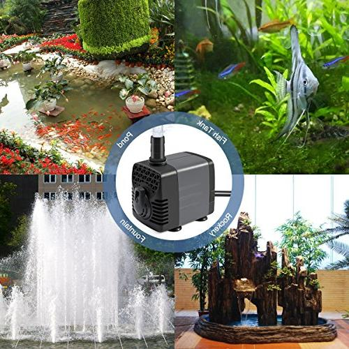 Ankway Upgraded Water Switch with 2 for Aquarium, Fish Tank Water Hydroponics, 5.9ft Cord