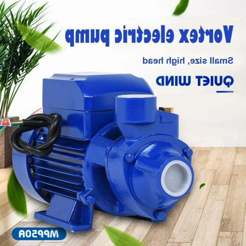 water pump 1 2hp electric clear transfer