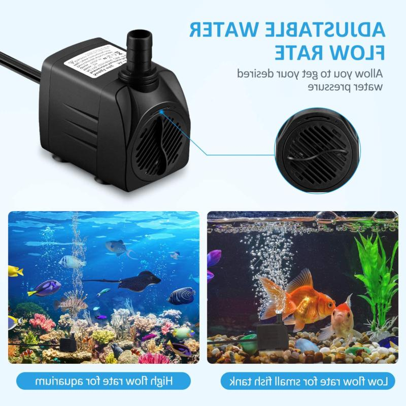 WATER Submersible for Tank Statuary HOMASY