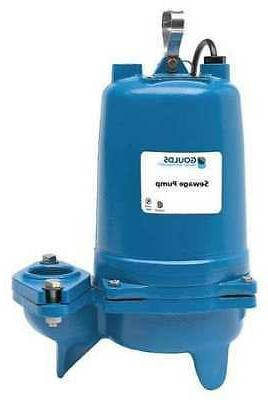 """GOULDS WATER TECHNOLOGY WS0712BHF 3/4 HP 2"""" Manual Submersib"""