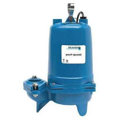 GOULDS TECHNOLOGY WS0734BF 3/4 Submersible Sewage