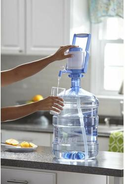 Manual Hand Press Water Pump Dispenser for 3 to 5 Gallon Bot