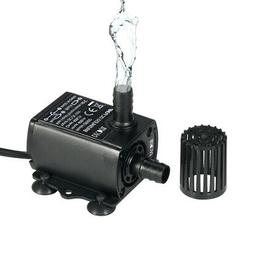 Mini DC12V 10W Brushless Water Pump Waterproof Submersible A