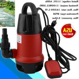 New 1100W 1.5HP Clear Dirty Water Submersible Pump Pool Pond
