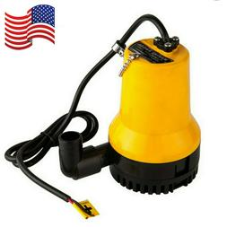New 12V Submersible Water Pump 1620GPH 6000L/H Clean Clear D