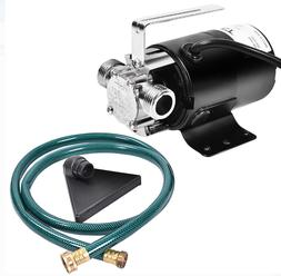 New Electric Power Water Transfer Removal Pump 120V With Hos