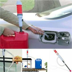 New Electric Water Pump Liquid Transfer Gas Oil Siphon Batte