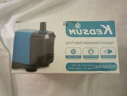 New in the Box KEDSUM - 2500 Aquarium Submersible Water Pump