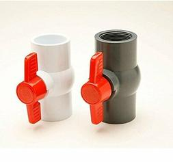 NEW Red Flag Products PVC Ball Valve Slip Water Pump Socket