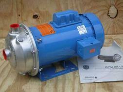 NEW Goulds Water Centrifugal Pump 1MS1F4B4 Stainless Steel H