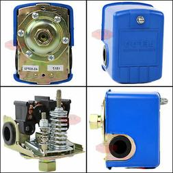 New Well Water Pump Pressure Control Switch 40-60 Preset PSI