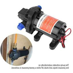 On Demand Diaphragm Water Pump 12V 3.5GPM 45PSI Ideal for Ca