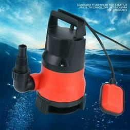 Plastic Electric Submersible Water Pump 400W Dirty Flood Cle