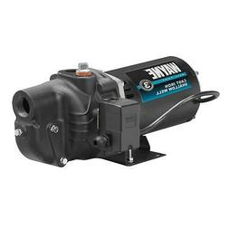 Shallow Well Jet Pump Cast Iron Water 1/2 HP Motor Priming P