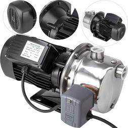 shallow well jet pump with pressure switch
