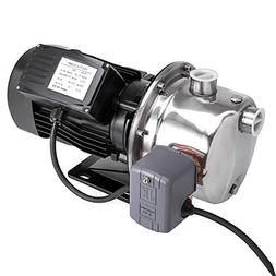 Happybuy Shallow Well Jet Pump with Pressure Switch 3/4HP Je