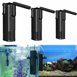 Small Internal Aquarium Filter Water Pump Spray Air Tube Fis