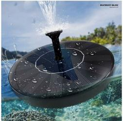 Solar Fountain-Solar Powered Water Pump Floating Outdoor Pon