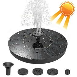 Solar Power Fountain Water Pump Floating For Garden Pond Poo