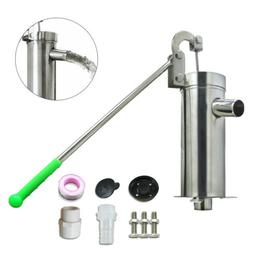 Stainless Steel Home Manual Water Pump Domestic Well Hand Sh