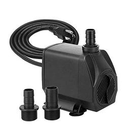 KEDSUM 880GPH Submersible Pump, Ultra Quiet Water Pump with